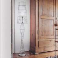 Lampadaire design tweed