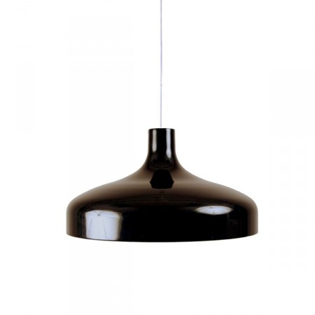 Suspension design brasilia noir supension luminaire design for Suspension design noir