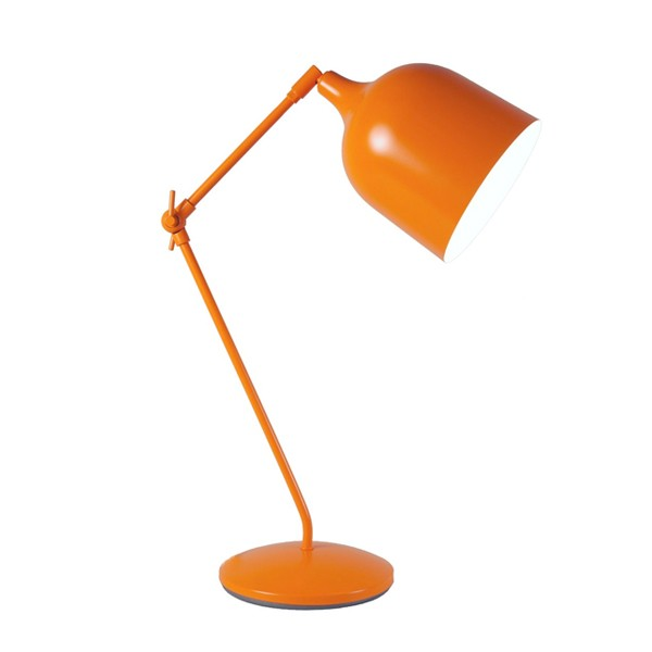 lampe de bureau design mekano orange lampe de bureau design. Black Bedroom Furniture Sets. Home Design Ideas